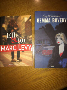 French Books: Gemma Bovery, Elle&Lui ONLY $5 EACH!