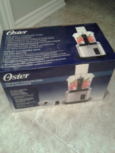 Oster 10 Cup Stainless Steel Food Processor