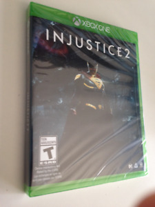 Injustice 2 Xbox One game NEW UNOPENED $50, OBO