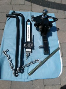 REESE HITCH  -  PRO SERIES WITH FRICTION SWAY CONTROL