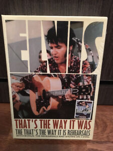 Elvis coffrets 8 CD et 3 DVD that's the way it is rehearsals