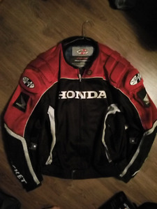 Honda joe rocket motorcycle jacket