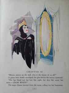 1937 Snow White And The Seven Dwarfs With Color Drawings Kitchener / Waterloo Kitchener Area image 5