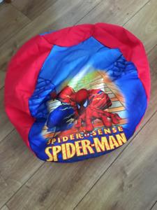 Pouffe Spiderman genre bean bag