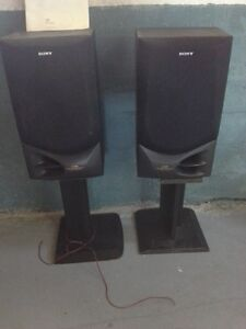 Sony Stereo System plus speakers & Console