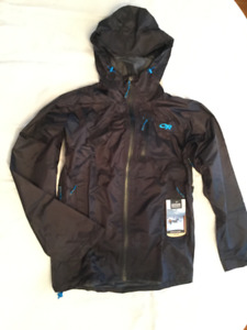 OR Helium HD jacket – Brand new with tags. Black, men's small.