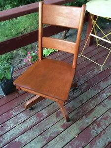 Antique office chair.