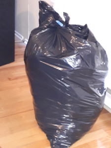 Garbage bag full boys clothes 12-24 months