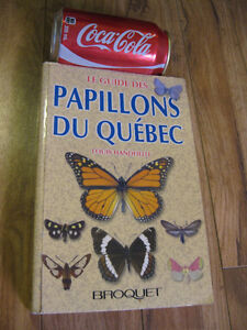livre guide papillons du quebec Louis Handfield Broquet