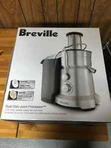 Breville Dual Disc Juice Processor BJE820XL - Not working