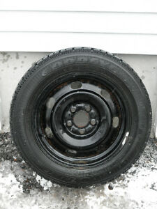 Reduced price on winter tires mounted on steel rims!