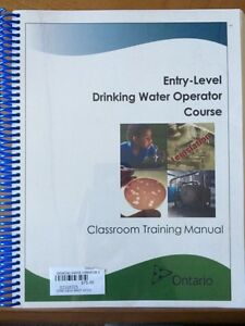 Entry-Level Drinking Water Operator Course