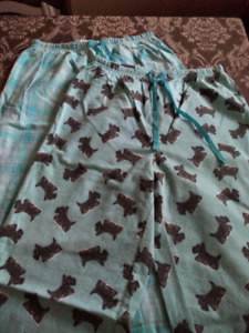 Flannel PJ's, size Small