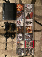 PlayStation 3, 15 games, 2 controllers and all chords included.