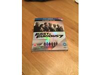 Fast & Furious 7 Blu-ray Extended Edition NEW