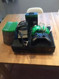 XBox One 500GB and Games Bundle