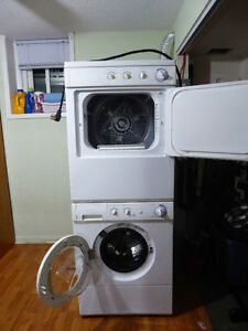 Frigidaire Stackabale Washer and Dryer