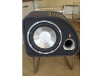Fly trap 1200 watt subwoofer - built in amp