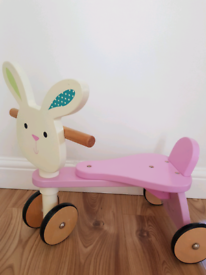 Early Learning Centre- Wooden Bunny Tricycle