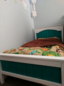 Hand made toddler bed