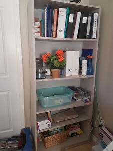 Grey Office Shelving Unit