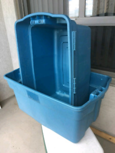 Rubbermaid Plastic Containers - no lid - 54 gallons