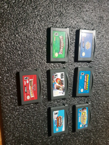 Various GBA games! (USED)