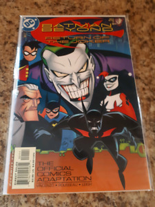Batman Beyond return of the Joker comic.  Mint
