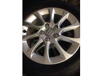 Audi alloy wheels x4