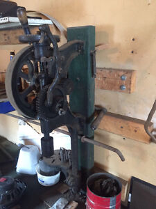 Antique black smith Post Drill for sale...