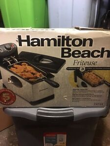 Hamilton Beach Deep Fryer