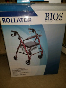 Brand new adult walker with basket