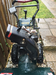 30 inch craftsman snowblower