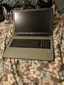 Silver Hp laptop