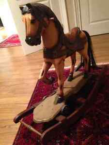 Antique Handpainted Rocking horse London Ontario image 2