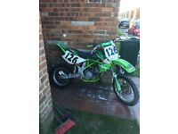 Kawasaki kx85 big wheel 2005