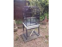Liberta Drake Small Parrot Cage fantastic condition. Hardly used 12 months old