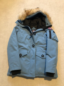 Canada Goose Montebello Jacket -Women's Small, light blue