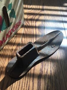 Vintage metal shoe lasts Kitchener / Waterloo Kitchener Area image 3