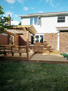 Custom Decks, Pergolas, Fences and Structures Kitchener / Waterloo Kitchener Area image 10