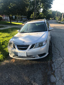 2008 Saab 9-3 2.0T Wagon, Rare 6 Speed Manual Transmission!!