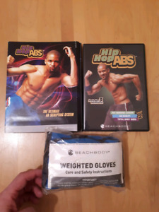 Hip hop abs workout 1 and 2 dvds