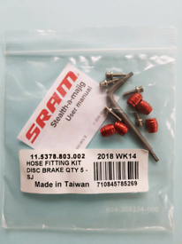 SRAM hose fitting kit