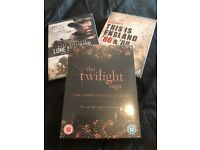 DVD BOX SETS NEW TWILIGHT