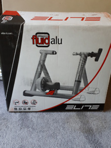 Elite Fluid ALU Bicycle Trainer $80
