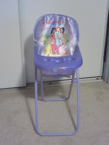 High chair for dolls