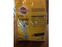 Puppy food and treats