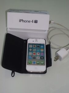 iPhone 4S Blanc 8GB  pour $45.00
