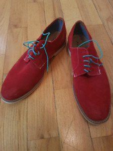 Red aldo shoes (size 12)