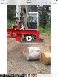 Wood Splitter Attachment